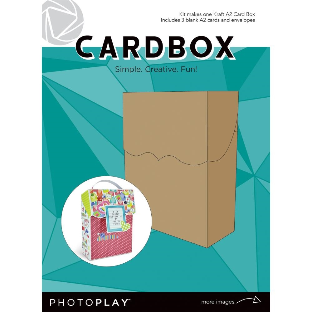 PhotoPlay KRAFT A2 CARDBOX Maker's Series ppp9155 zoom image