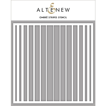 Altenew OMBRE STRIPES Stencil ALT3313