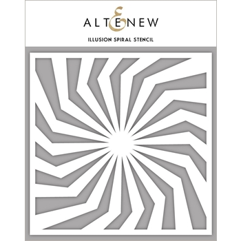Altenew ILLUSION SPIRAL Stencil ALT3312