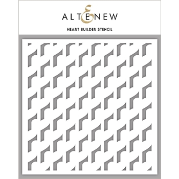 Altenew HEART BUILDER Stencil ALT3311