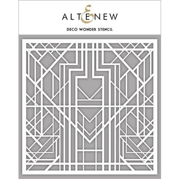 Altenew DECO WONDER Stencil ALT3308