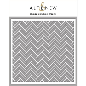 Altenew BROKEN CHEVRONS Stencil ALT3307