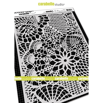 Carabelle Studio CROCHET LACES Mask ma40110