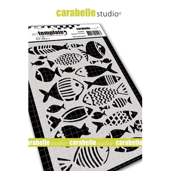 Carabelle Studio FISHES Stencil te60088