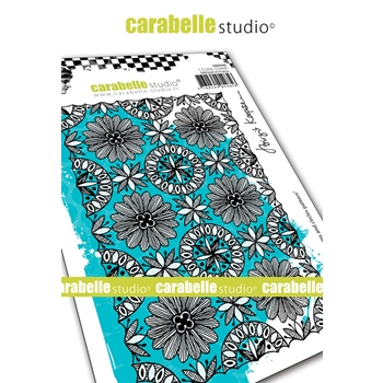 Carabelle Studio BLOOMS AND PATTERNS Cling Stamp sa60440