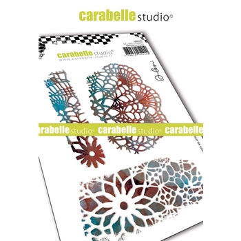 Carabelle Studio CROCHETS TEXTURE Cling Stamps sa60445