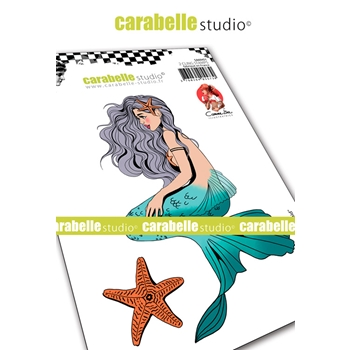 Carabelle Studio MERMAID Cling Stamps sa60451