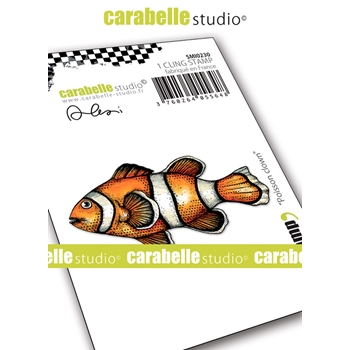Carabelle Studio CLOWN FISH Cling Stamp smi0230