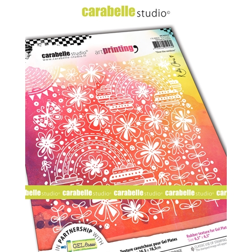 Carabelle Studio OVER THE RAINBOW Art Printing Texture Plate Square apca60030 Preview Image