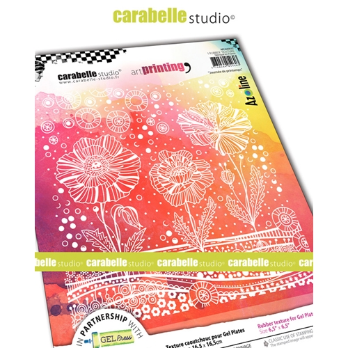 Carabelle Studio SPRING DAY Art Printing Texture Plate Square apca60032 Preview Image