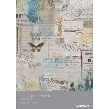 Kaisercraft ANTIQUITIES Sticker Book SK807