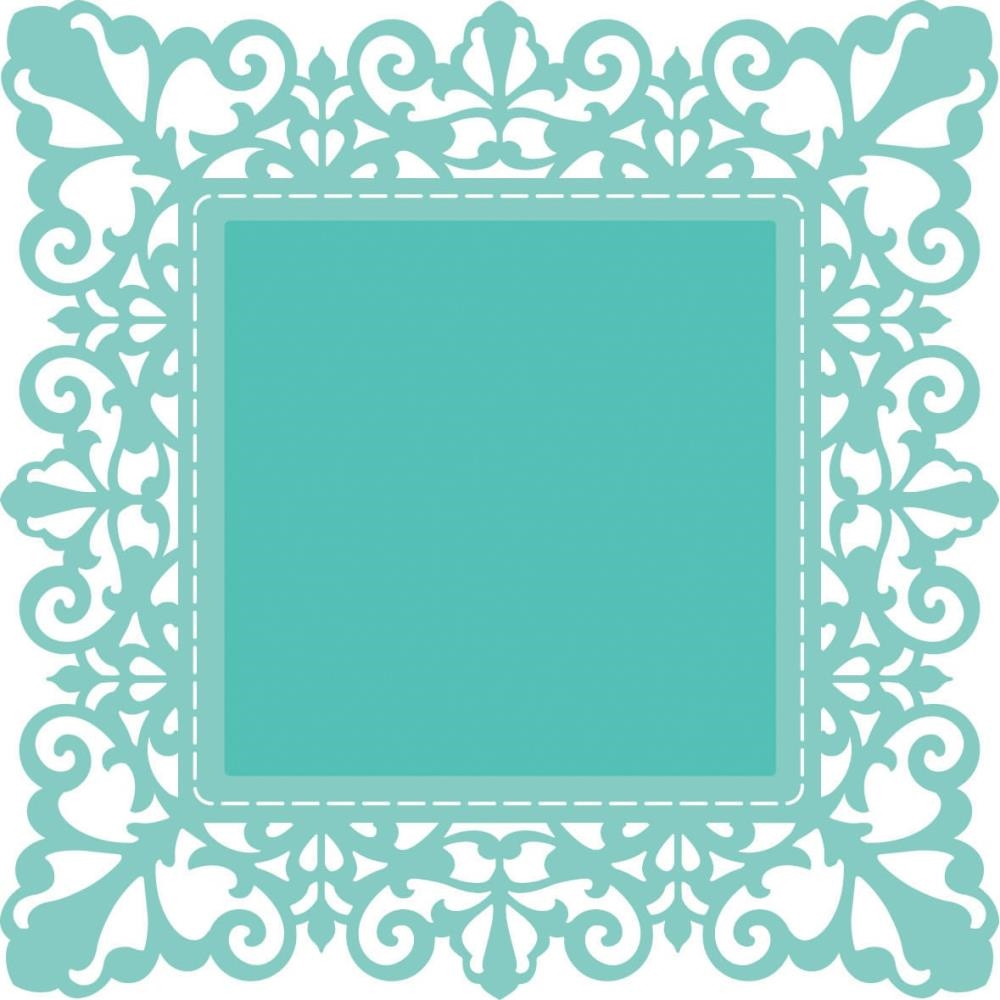 Kaisercraft CLASSIC SQUARE FRAME Decorative DIY Die DD637 zoom image