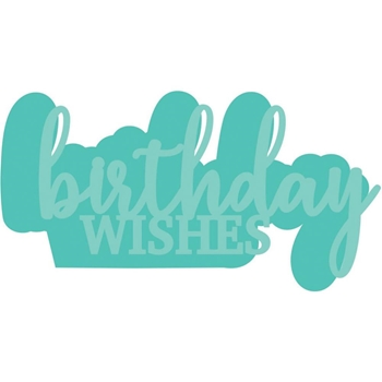 Kaisercraft BIRTHDAY WISHES Decorative DIY Dies DD3335