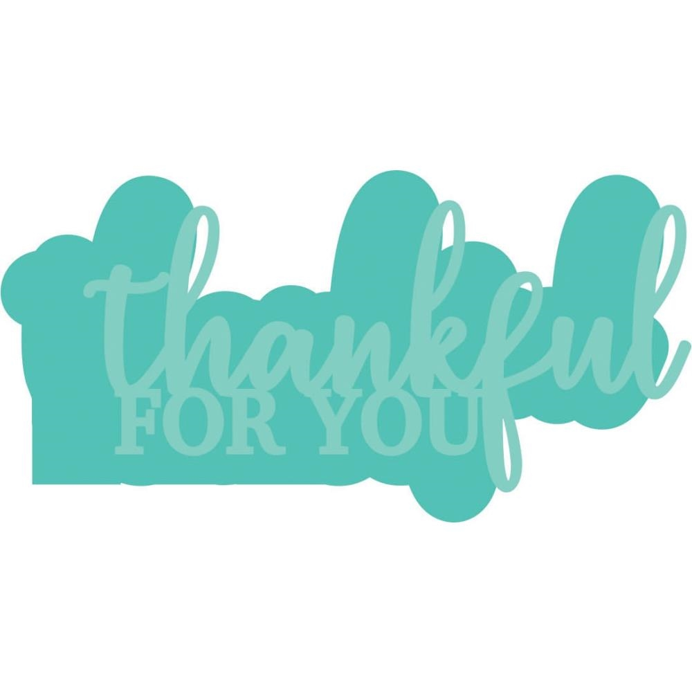 Kaisercraft THANKFUL FOR YOU Decorative DIY Dies DD3333 zoom image