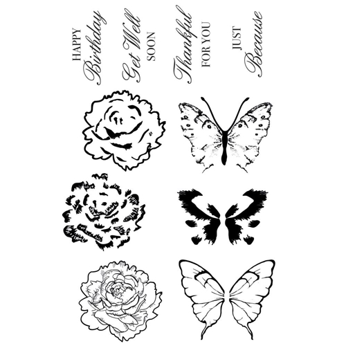 Kaisercraft WITH LOVE Clear Stamps CS353 Preview Image