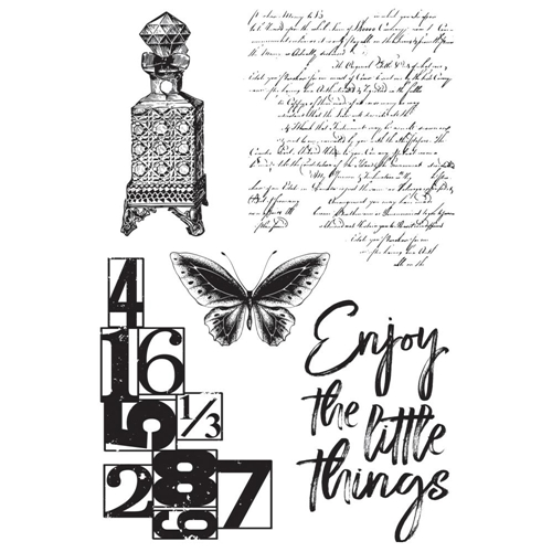 Kaisercraft ANTIQUITIES Clear Stamps CS353 Preview Image