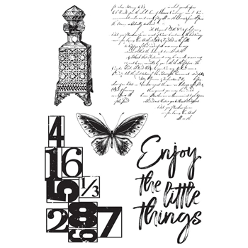 Kaisercraft ANTIQUITIES Clear Stamps CS353