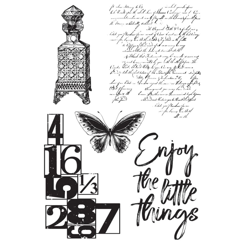 Kaisercraft ANTIQUITIES Clear Stamps CS353 zoom image