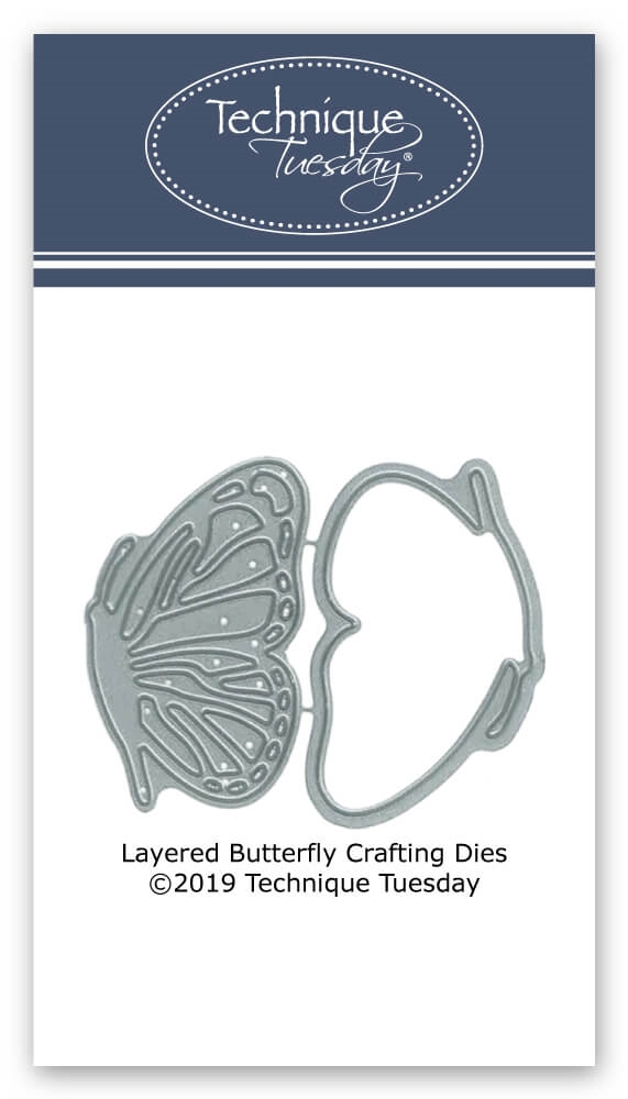 Technique Tuesday LAYERED BUTTERFLY Crafting Dies 02781 zoom image