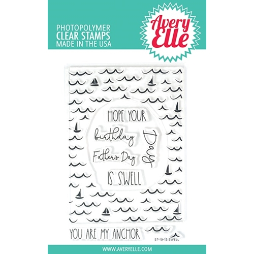 Avery Elle Clear Stamps SWELL ST-19-13 Preview Image