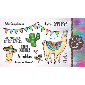 Joy Clair NO PROBLLAMA Clear Stamp Set jc-02225-1