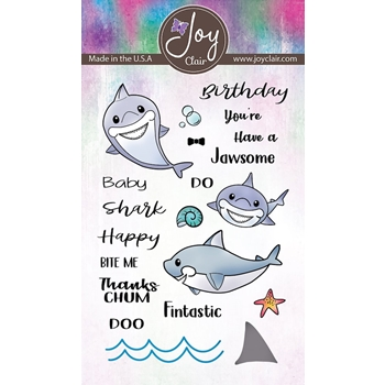 Joy Clair BABY SHARK Clear Stamp Set jc-02230-1