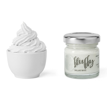 ModaScrap FLUFFY BRILLIANT WHITE Texture Paste msfl1001