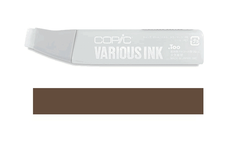 Copic Marker REFILL E49 DARK BARK Original Sketch And Ciao zoom image
