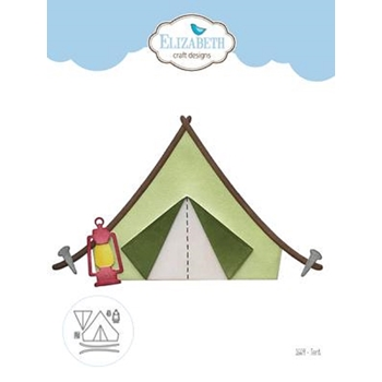 Elizabeth Craft Designs TENT Craft Dies 1669