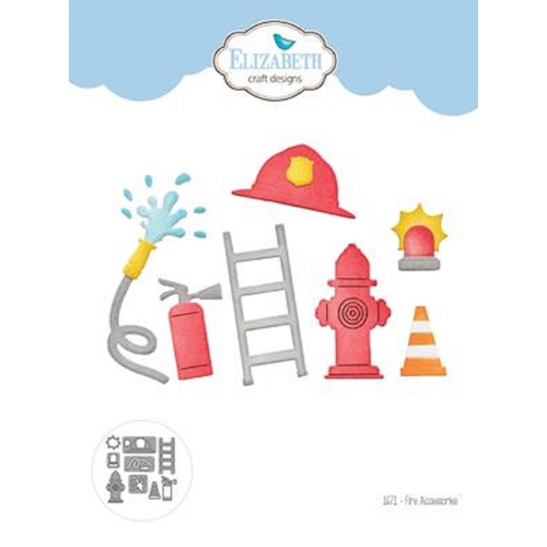 Elizabeth Craft Designs FIRE ACCESSORIES Craft Dies 1671 Preview Image