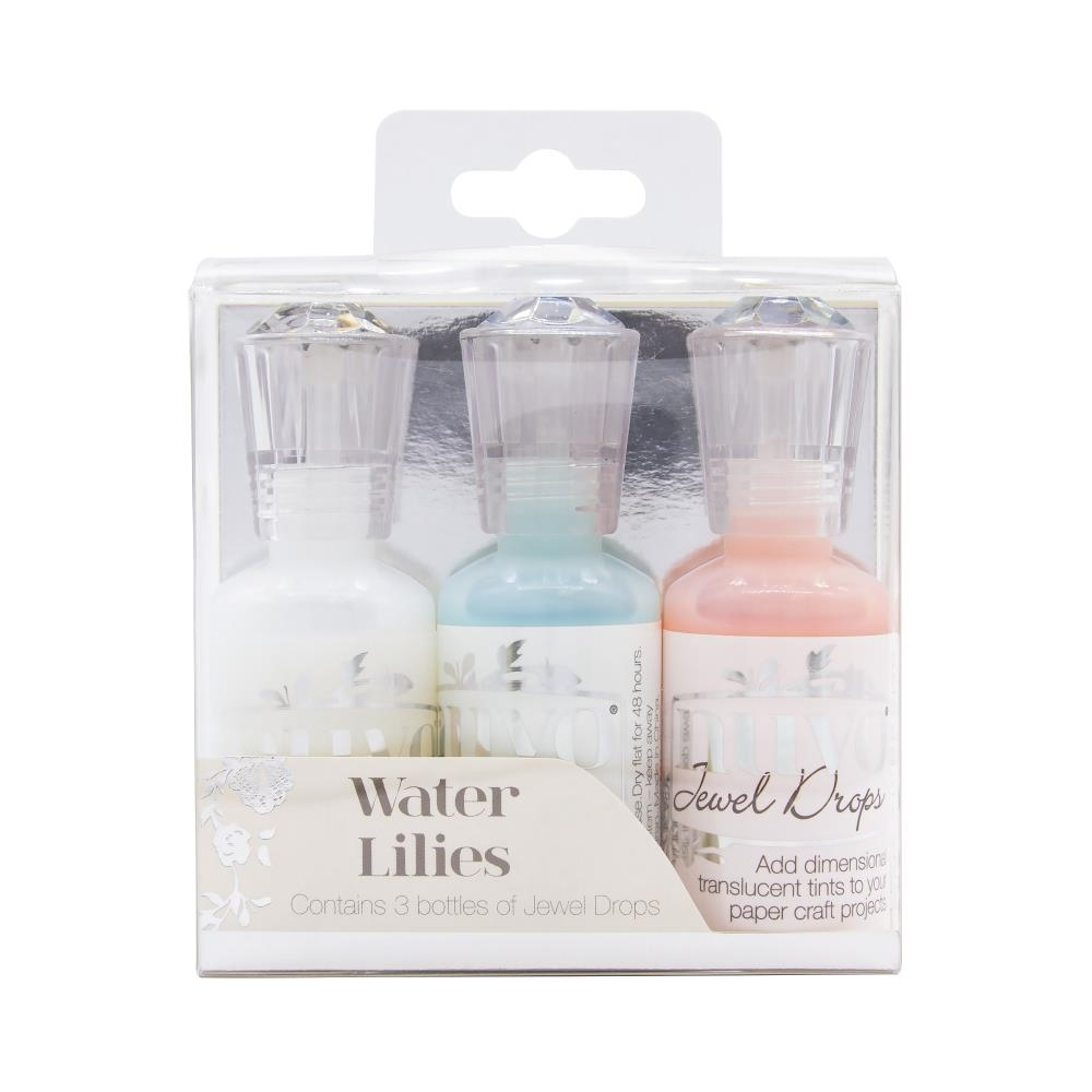 Tonic WATER LILIES Nuvo Jewel Drops 3 Pack 2002n zoom image