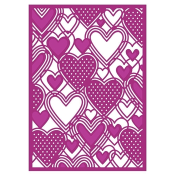 Crafter's Companion ONLY LOVE Create A Card Gemini Die gem-md-cad-onlo