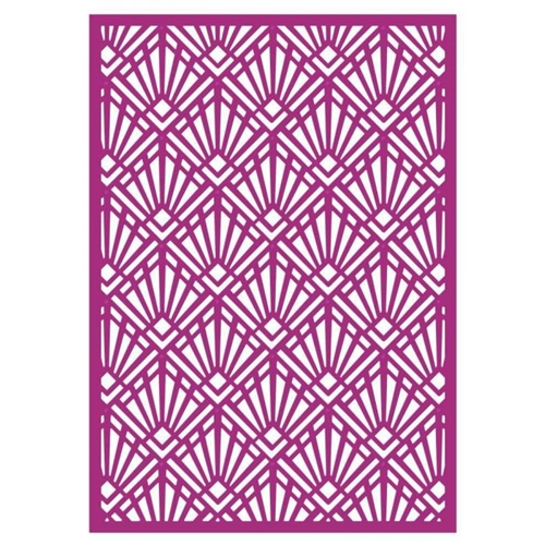 Crafter's Companion ART DECO Create A Card Gemini Die gem-md-cad-artd Preview Image