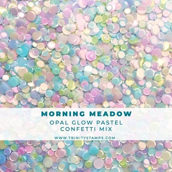 Trinity Stamps MORNING MEADOW OPAL SHEEN CONFETTI MIX Embellishment Bag 58900573