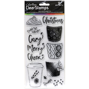 Clearsnap Colorbox COZY CUP Clear Stamp Set 10424