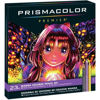 Prismacolor Premier MANGA COLORED PENCILS 1774800