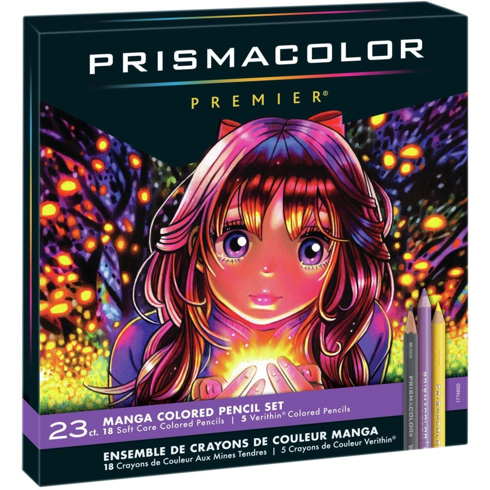 Prismacolor Premier MANGA COLORED PENCILS 1774800 zoom image