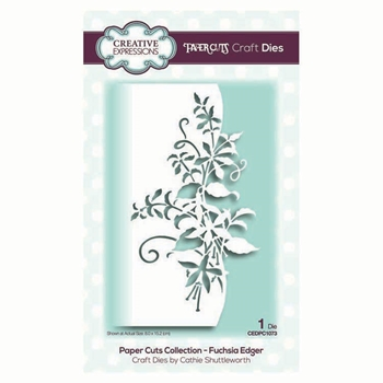 Creative Expressions FUCHSIA EDGER Paper Cuts Collection Dies cedpc1073