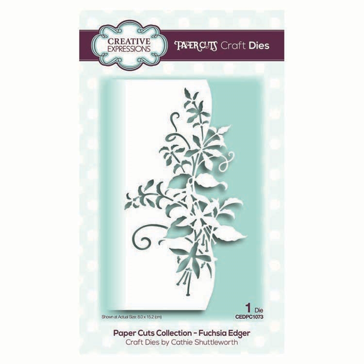 Creative Expressions FUCHSIA EDGER Paper Cuts Collection Dies cedpc1073 zoom image