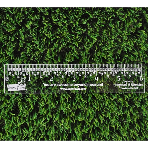 Lawn Fawn 6 INCH Clear Ruler LF1998 Preview Image