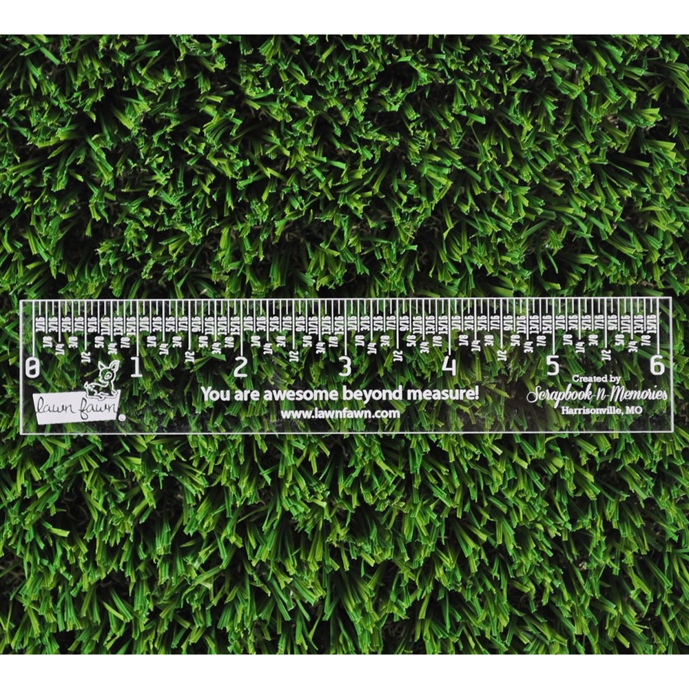 Lawn Fawn 6 INCH Clear Ruler LF1998 zoom image
