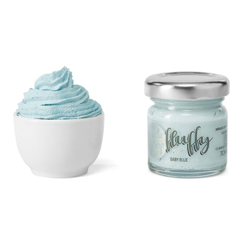 ModaScrap FLUFFY BABY BLUE Texture Paste msfl1011 Preview Image