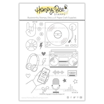 Honey Bee GOOD MIX Clear Stamp Set hbst-180