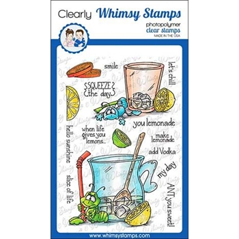 Whimsy Stamps ANT YOU SWEET Clear Stamps DP1013