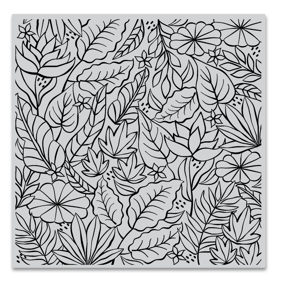 Hero Arts Cling Stamp JUNGLE BOLD PRINTS CG778 zoom image
