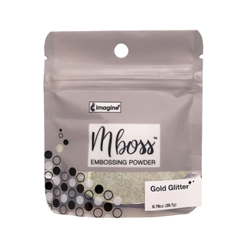 Tsukineko GOLD GLITTER MBOSS Embossing Powder em000037