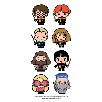 Paper House HARRY POTTER CHIBI 2 inch Stickers ST-2327E
