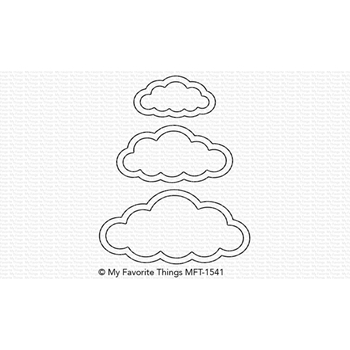 My Favorite Things CUTE CLOUD OUTLINES Die-Namics MFT1541