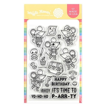 Waffle Flower P-ARR-TY TIME Clear Stamps 271250