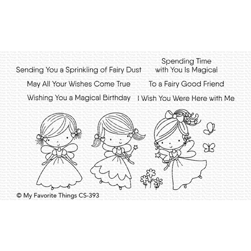 My Favorite Things FAIRY GOOD FRIENDS Clear Stamps CS393 Preview Image